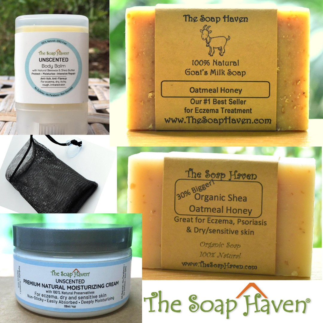 The Soap Haven All in one eczema healing kit