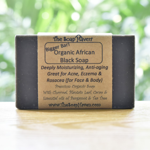 The Soap Haven Organic African Black Soap