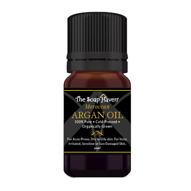 The Soap Haven 100% Pure Moroccan Argan Oil 10ml